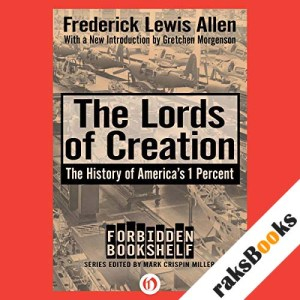 The Lords of Creation audiobook cover art