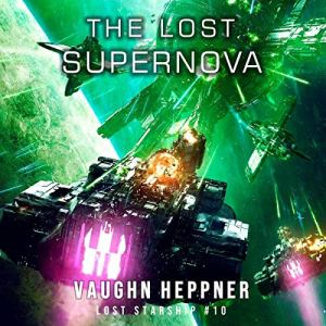 The Lost Supernova audiobook cover art