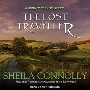 The Lost Traveller audiobook cover art