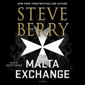 The Malta Exchange audiobook cover art