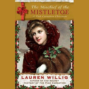 The Mischief of the Mistletoe audiobook cover art