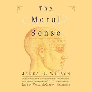 The Moral Sense audiobook cover art