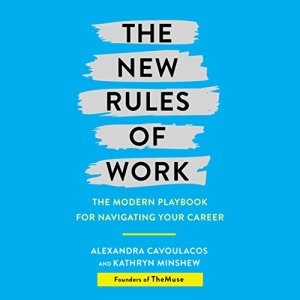 The New Rules of Work audiobook cover art