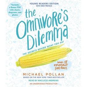 The Omnivore's Dilemma audiobook cover art