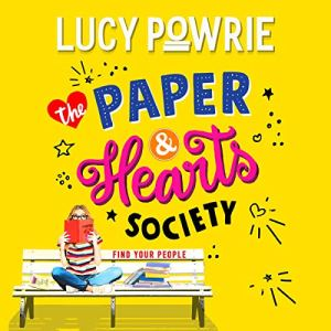 The Paper & Hearts Society audiobook cover art