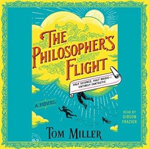 The Philosopher's Flight audiobook cover art