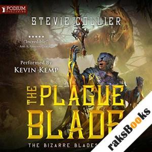 The Plague Blade audiobook cover art