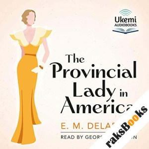 The Provincial Lady in America audiobook cover art