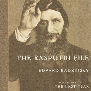 The Rasputin File audiobook cover art