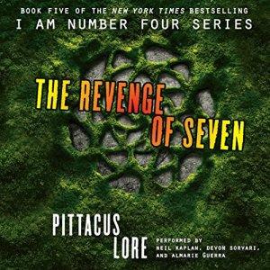 The Revenge of Seven audiobook cover art