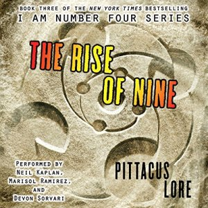 The Rise of Nine audiobook cover art