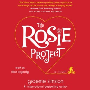 The Rosie Project audiobook cover art