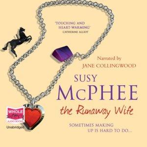 The Runaway Wife audiobook cover art