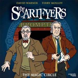 The Scarifyers: The Magic Circle audiobook cover art