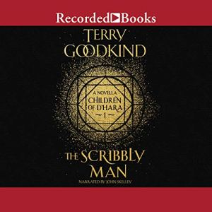 The Scribbly Man audiobook cover art