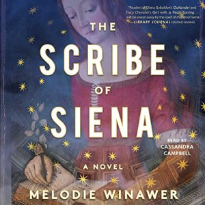 The Scribe of Siena audiobook cover art