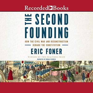 The Second Founding audiobook cover art