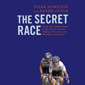 The Secret Race audiobook cover art