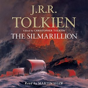 The Silmarillion audiobook cover art