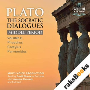 The Socratic Dialogues Middle Period, Volume 2 audiobook cover art