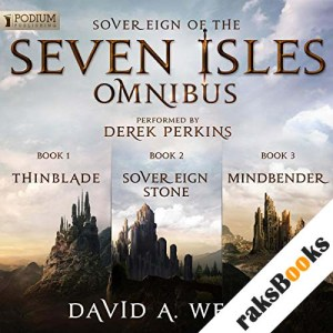 The Sovereign of the Seven Isles Omnibus audiobook cover art