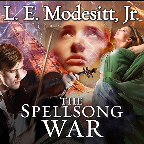 The Spellsong War audiobook cover art