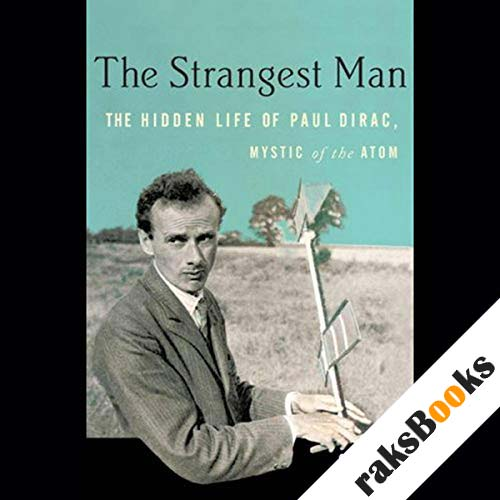 The Strangest Man audiobook cover art