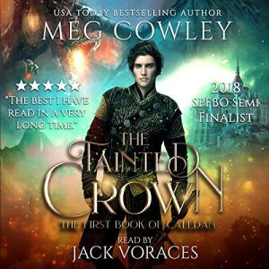 The Tainted Crown audiobook cover art