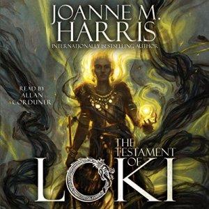 The Testament of Loki audiobook cover art