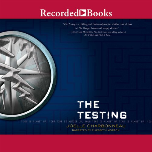 The Testing audiobook cover art