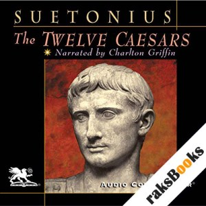 The Twelve Caesars audiobook cover art