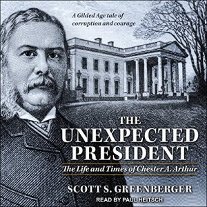 The Unexpected President audiobook cover art