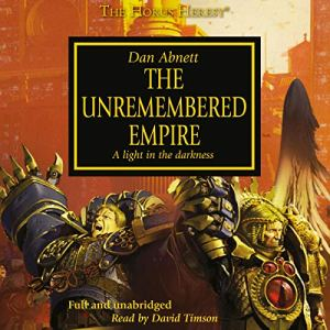 The Unremembered Empire audiobook cover art