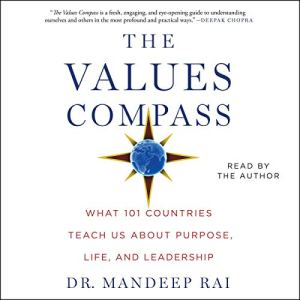 The Values Compass audiobook cover art