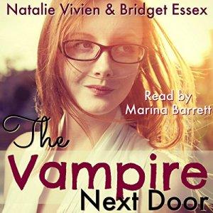 The Vampire Next Door audiobook cover art