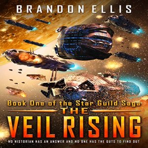 The Veil Rising audiobook cover art