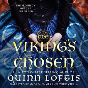 The Viking's Chosen audiobook cover art