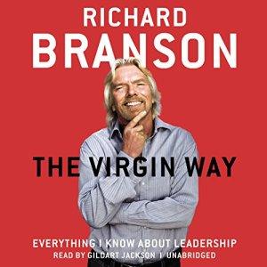 The Virgin Way audiobook cover art