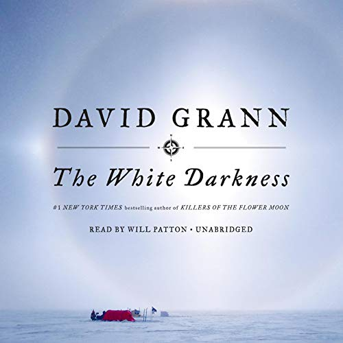 The White Darkness audiobook cover art