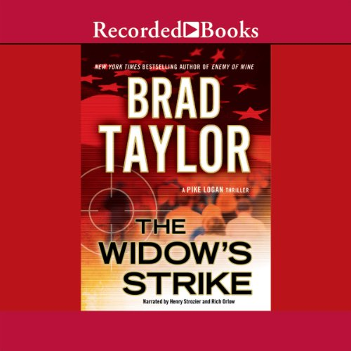 The Widow's Strike audiobook cover art