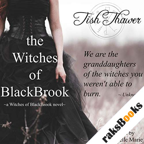 The Witches of BlackBrook audiobook cover art
