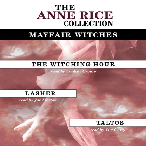 The Witching Hour, Lasher, Taltos audiobook cover art