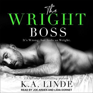 The Wright Boss audiobook cover art