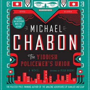The Yiddish Policemen's Union audiobook cover art
