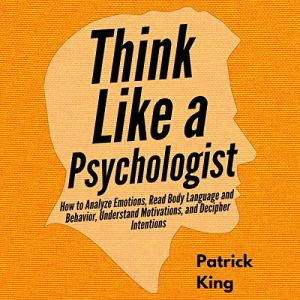 Think Like a Psychologist audiobook cover art
