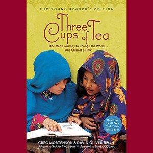 Three Cups of Tea audiobook cover art