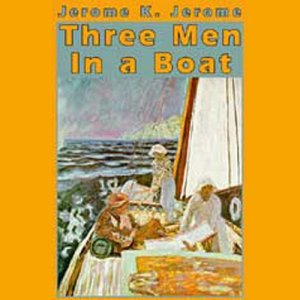 Three Men in a Boat audiobook cover art