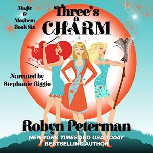 Three's a Charm audiobook cover art