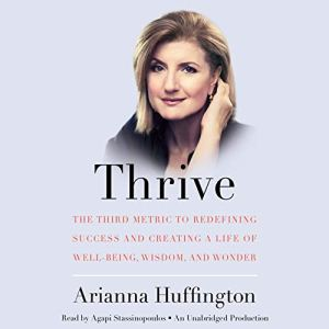 Thrive audiobook cover art