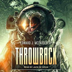 Throwback audiobook cover art
